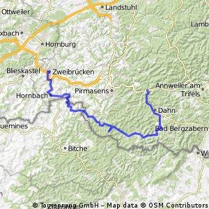 Durch die Südpfalz
