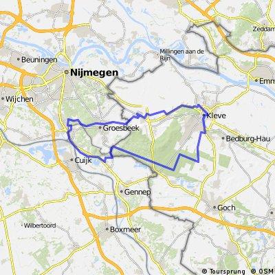 Herrensitz-Route (3) Nord Kleve-Maas