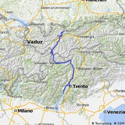 Trip 38 Alpenüberquerung