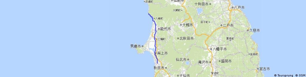 0902秋田市-八峰町95km