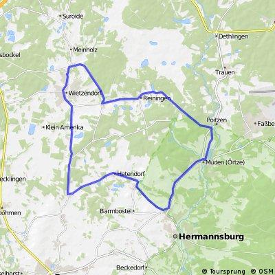 Wietzendorf-Heidesee-Wietzendorf (Strassen)