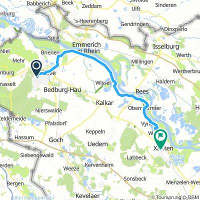 Niederrhein Tour 3: Kleve - Xanten  (🚴♂️ 16.8.2015)