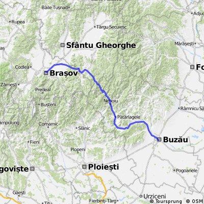 Brasov-Buzau..@Intorsura Buzaului