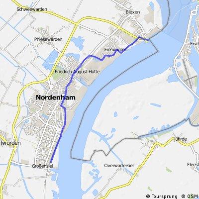 5.0   Jugendherberge --- Bremerhaven 12 Aug