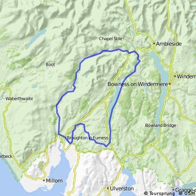Broughton Wheelers Lakes Loop