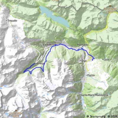 MTB: Arnoga - Val Verva - Bosco del conte - Val Cardonè - Bormio