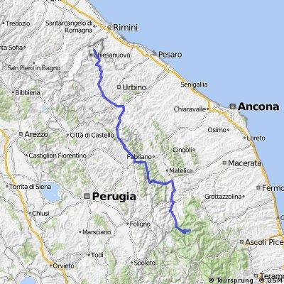 Giro Etape 8 Saint Marin-Frontignano