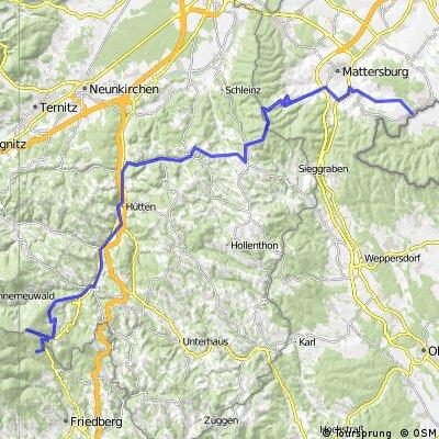 AU Loipersbach - Von Loipersbach nach Mönichkirchen