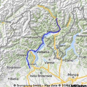 Tour des Alpes occidentales 8. Etappe