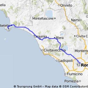 Giro Etape 12 Rome-Mont Argentario