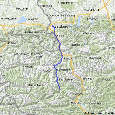 Alpe Adria Radweg Tag 1 und 2