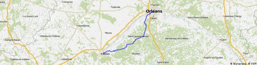 Blois - Orleans