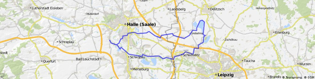 Halle-Schladitzer See-Werbeliner See-Halle-Holleben