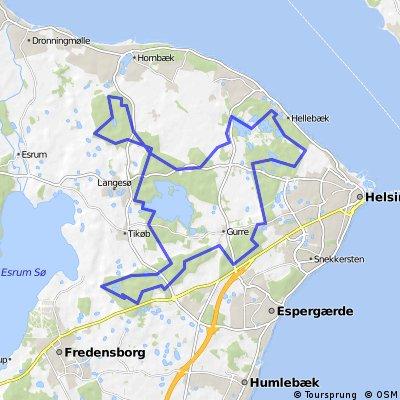 Nordsjælland småveje April 2014