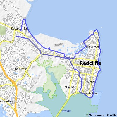 Great Cycle  Challenge route 2