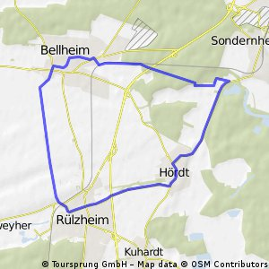 Hördt-Rülzheim-Bellheim