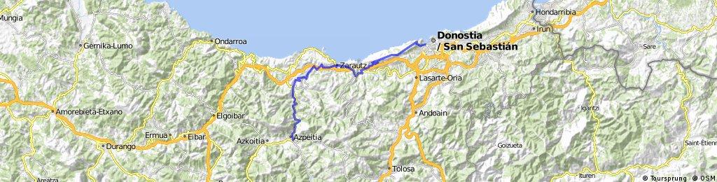 Azpeitia - Donostia