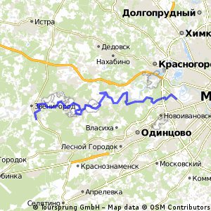Звенигород-Москва-река-Рублевка
