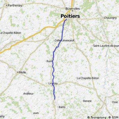 Ruffecc - Poitiers