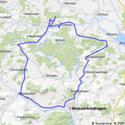 Bechhofen - Hesselberg - Tour