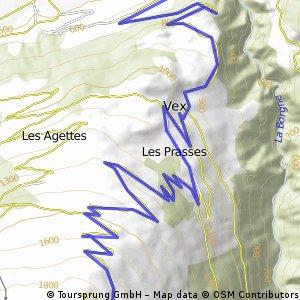 Les Collons Bergzeitfahren