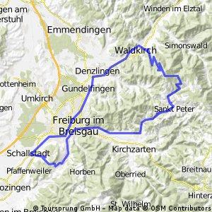 Wolfenweiler-Kandel-St. Peter-Wittnau-Wolfenweiler