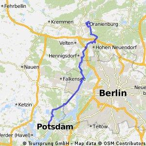 15/2 Potsdam - Oranienburg