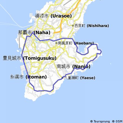 Okinawa Cycling Trip Day Five