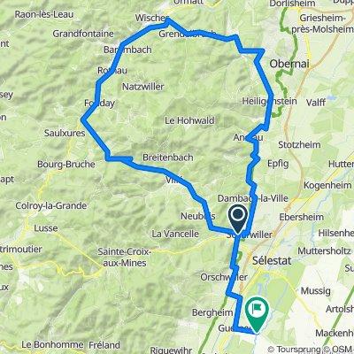 Alsace-Tour 2009-Sa: SteigeGrendelbruch