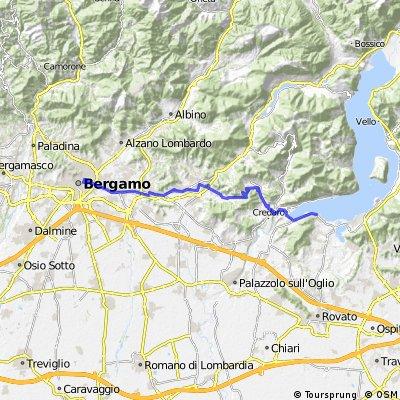 Day2. Begamo - lago Iseo