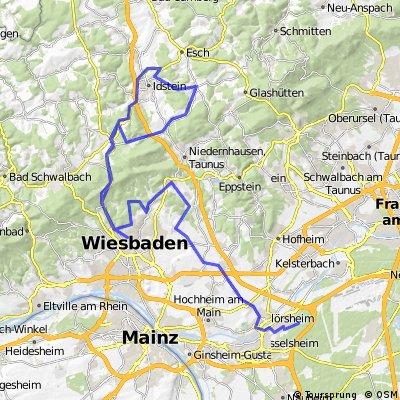 IRONMAN 70.3 European Championship - Radstrecke 2015