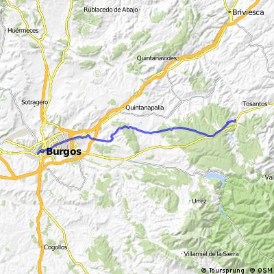 CAMINO DE SANTIAGO mtb: Villafranca Montes de Oca - Burgos