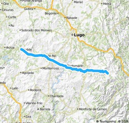 Camino de Santiago MTB: Triacastela - Melide