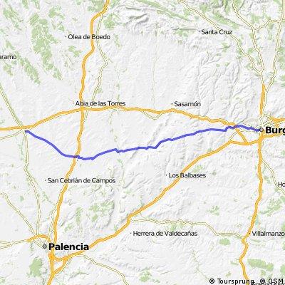 Camino de Santiago MTB: Burgos - Carrion de los Condes
