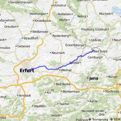Erfurt - Bad Sulza