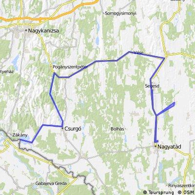 Nagyatádi ExtremeMan - VÁLTÓ - 180 km kerékpár 2015