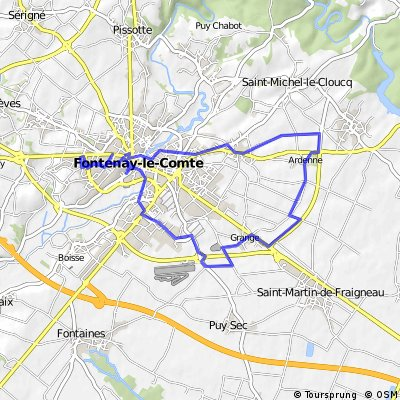 parcours long (150 - 160 kms)