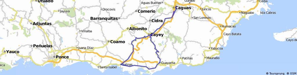 Caguas, Salinas, Guayama,Jajome,Caguas