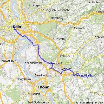 KEV Wanderheim Bugelaul