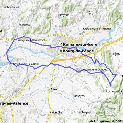 Combe d´Oyans - Romans sur Isère