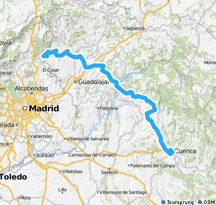 Cuenca (Bosque de Acero) - Muro de Uceda
