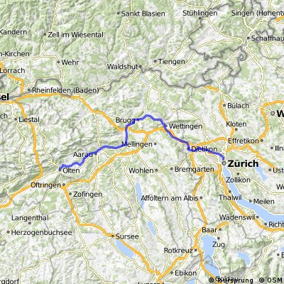Aare-Limmat-Route