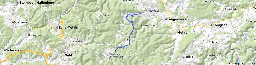 Wanderung Kickelhahn