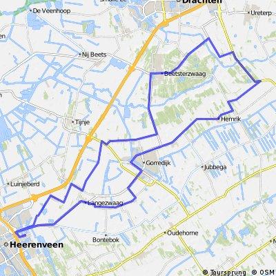 55km Hemrik Beetsterzwaag