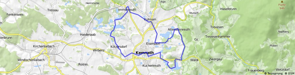 Kemnather Karpfenradweg
