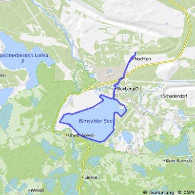 Runde um den Bärwalder See