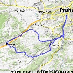 Prague - Karlstejn Loop