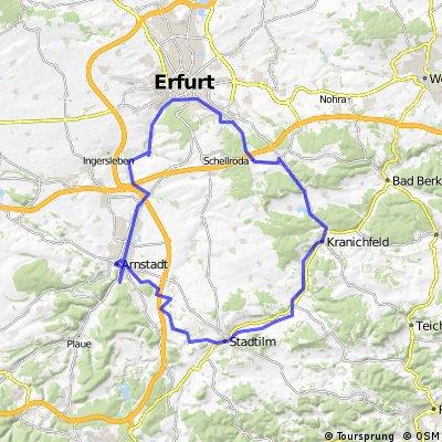 Radtour Arnstadt Stadtilm