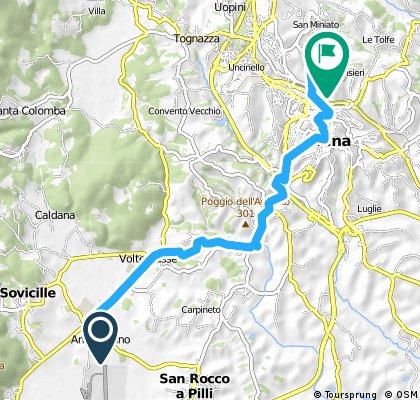 TOSCANA 2015.07.19. Ampugnano - Siena