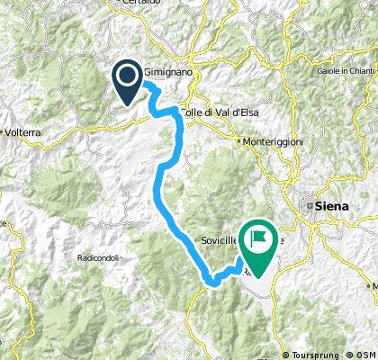 TOSCANA 2015.06.27. San Gimignano - Ampugnano